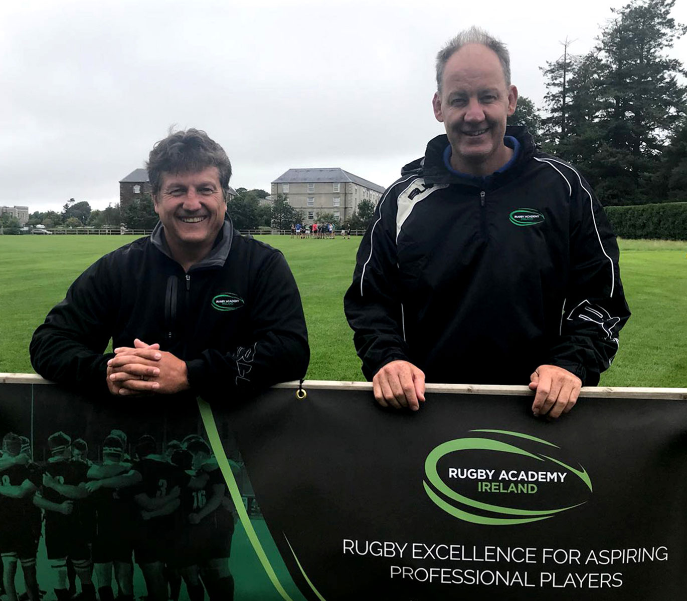 Founders of the Rugby Academy Ireland