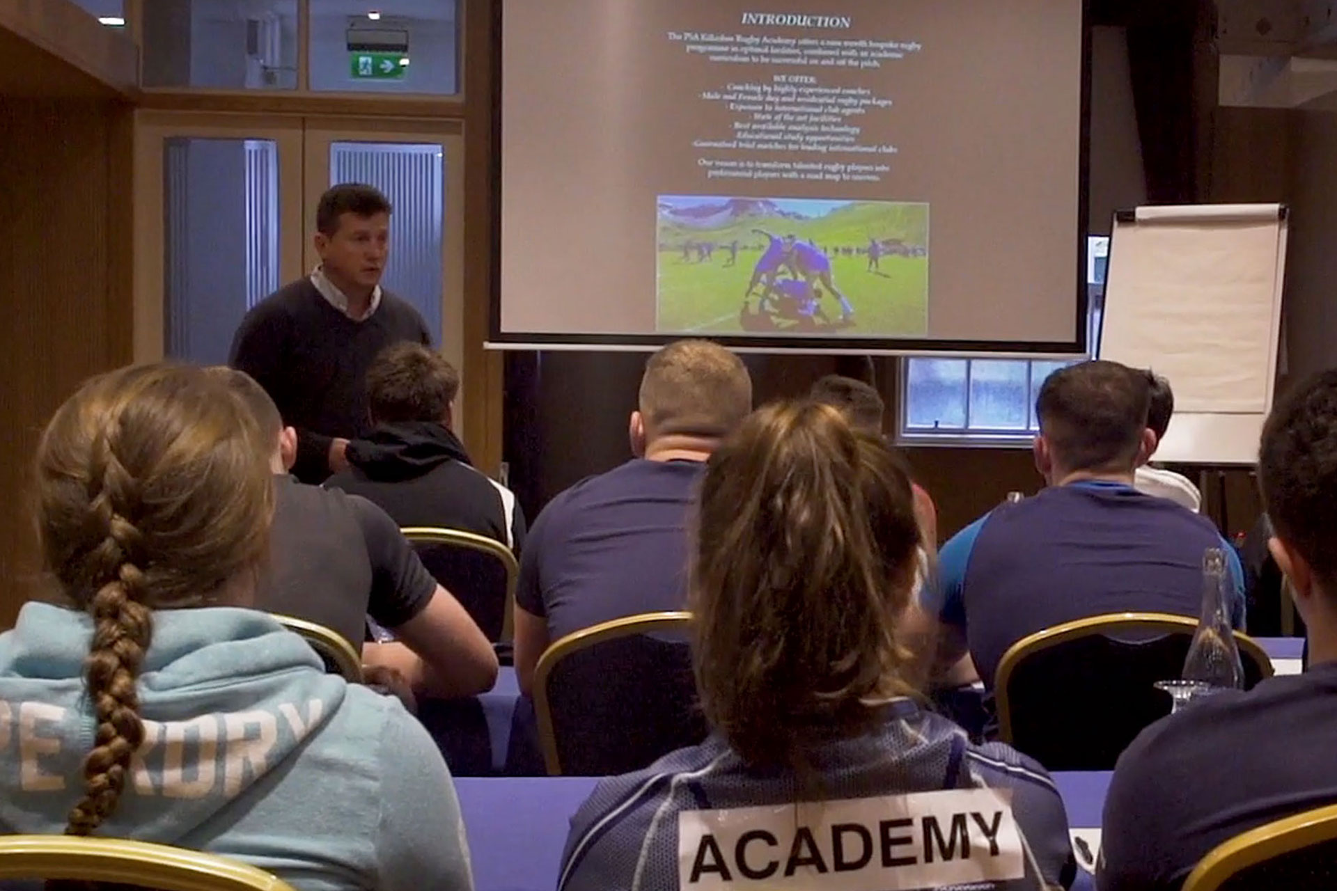 Girl's Rugby Academy Education