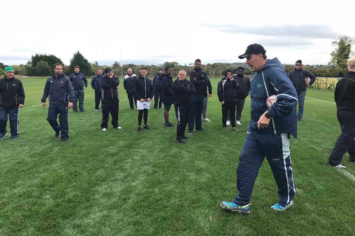 Rugby Academy Ireland clinics, teams and coaches