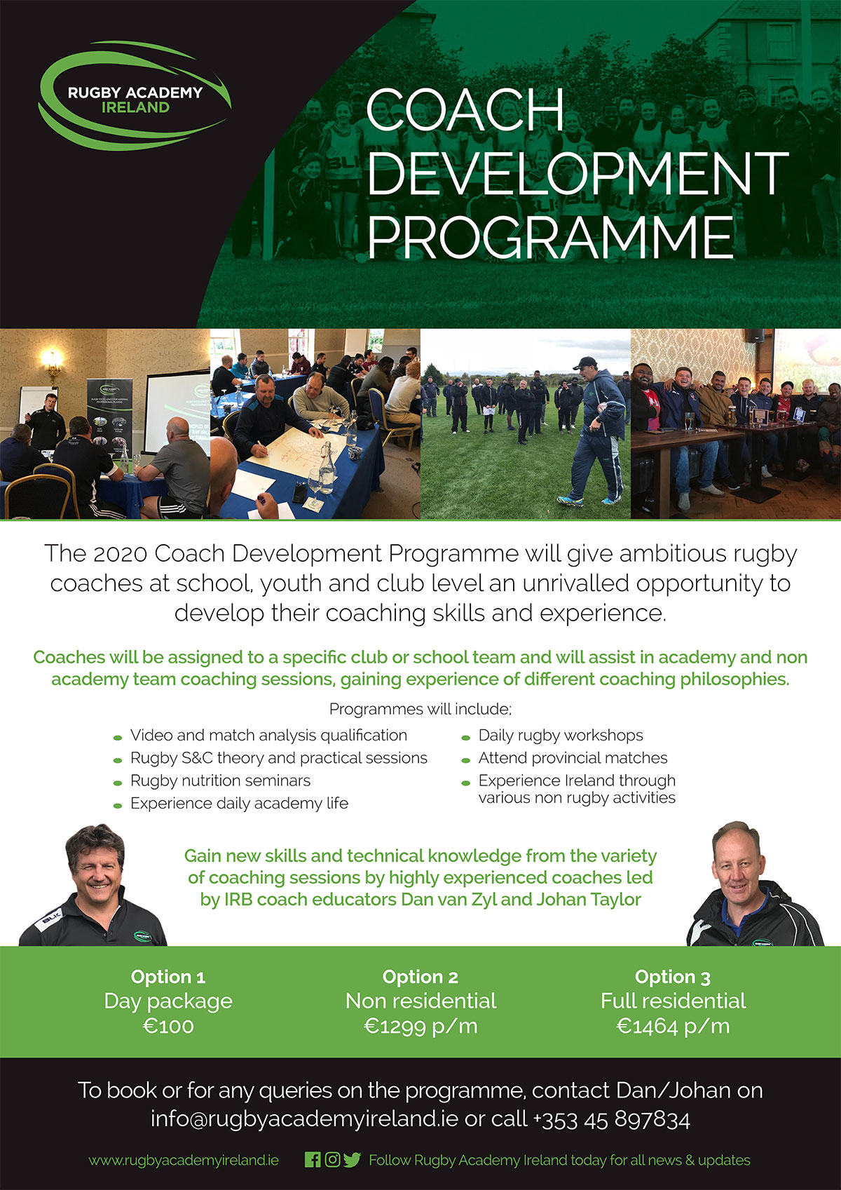 Rugby Coach Development Programme