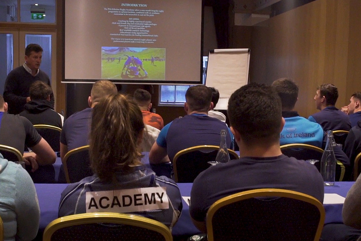 Introduction to the Rugby Academy