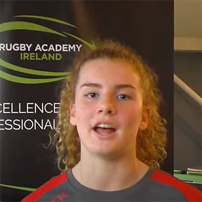 Ruth Campbell - Rugby Academy TY player