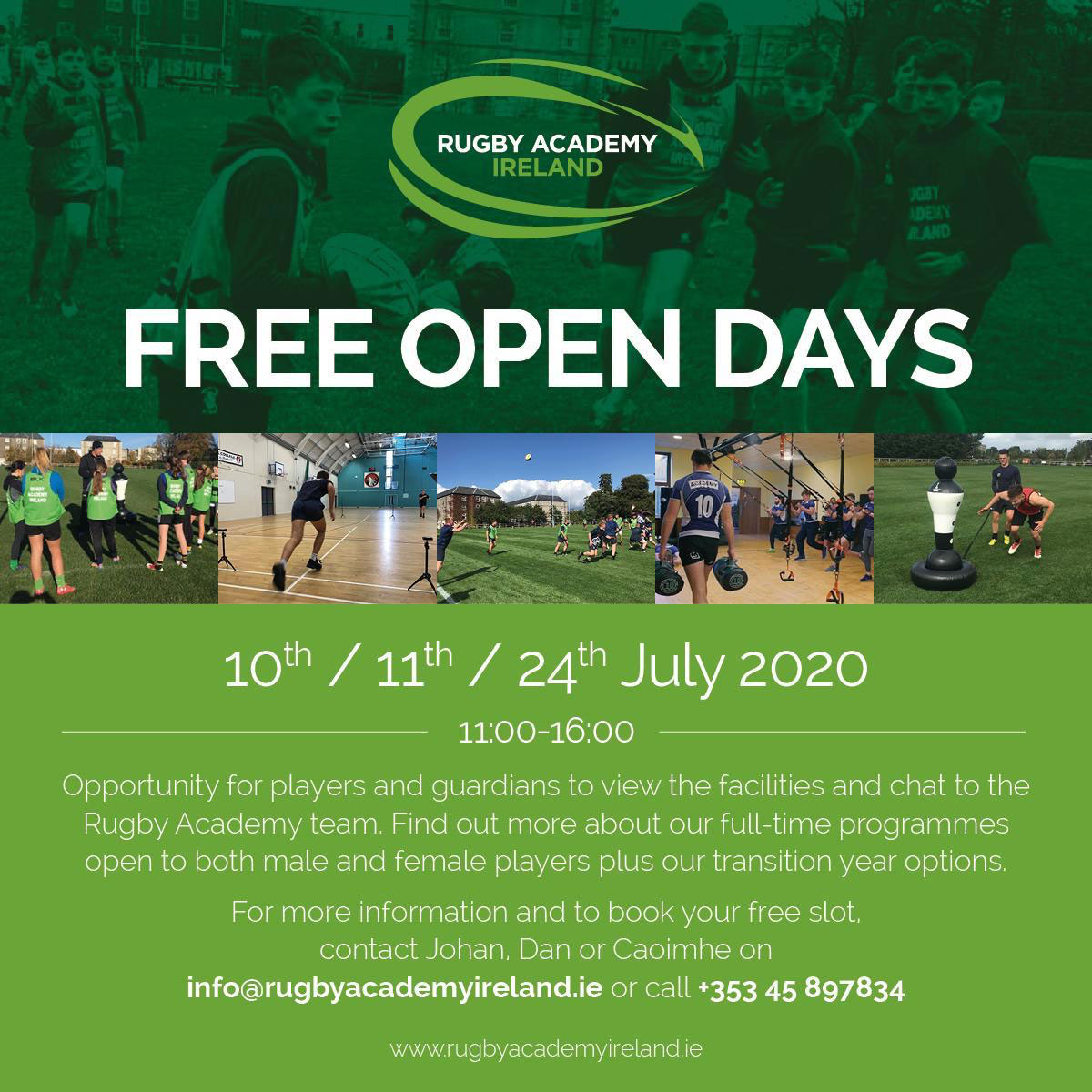 Free open days